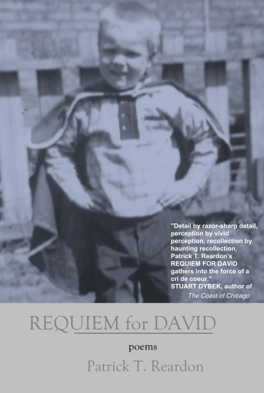 Requiem for David by Patrick T. Reardon nominated for 2017 Pulitzer Prize and National Book Award